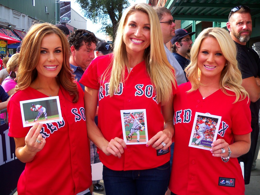 Red Sox Wives Food Drive