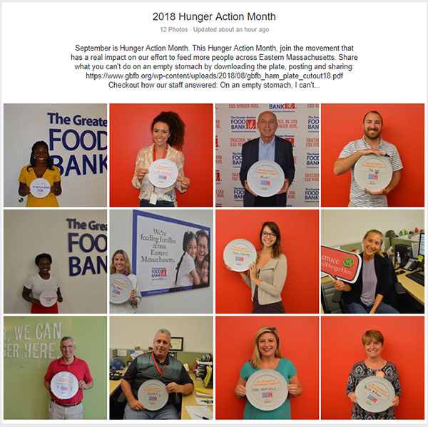 Hunger Action Month | Empty Plate Campaign