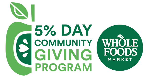 Whole Foods Market - 5% Community Giving Program
